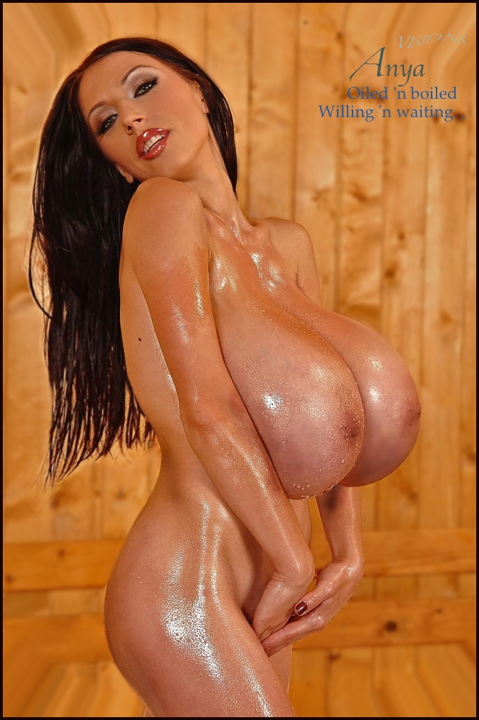 Oiled big boobs pics