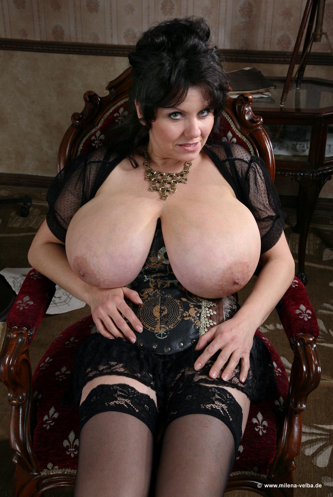 boob press in nude